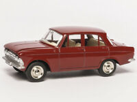 Atlas Dinky Toys 1410 1/43 MOSKVITCH 408 Alloy Diecast Car Model for Collection