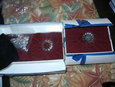 Swarovski Sealed Bag Mini Marguerite Daisies, & Green & Red Daisy Renewals