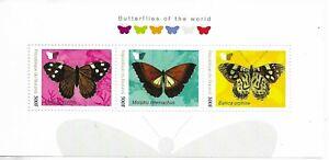 BURUNDI  Butterflies of the World Mini Sheet MINT NH