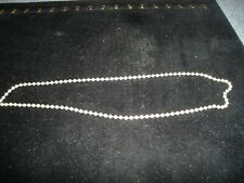 VINTAGE SILVER 925 BALL CHAIN 24 GRAMS 20 INCHES