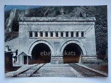 ISELLE gallerie Sempione confine Svizzera vecchia cartolina