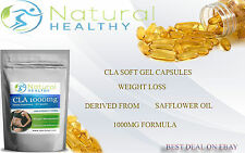 60 CLA DIET PILLS - FAT BURNER STRONG WEIGHT LOSS SLIMMING SOFTGEL CAPSULES