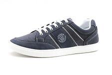 Sneaker Herren Jeans Blau D.T.NEW YORK Casual Freizeitschuh flach Halbschuhe