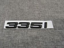 "Black "" 335 i "" Number Trunk Letters Emblem Badge Sticker for BMW 3 Series 335i"