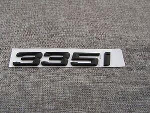 """Black """" 335 i """" Number Trunk Letters Emblem Badge Emblems for BMW 3 Series 335i"""