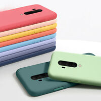 Case For OnePlus 8T Nord 7T Pro 7 6 6T 5 Liquid Silicone Soft Shockproof Cover