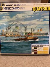 HORNBY MINIC SHIPS TRIANG M905 QUAYSIDE SET BRAND NEW SET COMPLETE