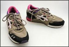 Flat (0 to 1/2 in.) Leather Multi-Colored Athletic Shoes for Women