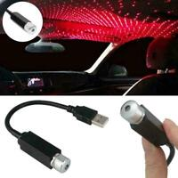 USB Car Interior Atmosphere Starry Sky Lamp Ambient Star Light LED Projecto N0J7