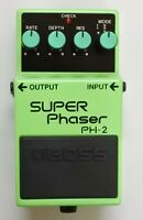 BOSS PH-2 SUPER Phaser Guitar Effects Pedal 1994 #40 Free Shipping with Box