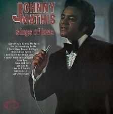 JOHNNY MATHIS Sings Of Love LP Vinyl Record Album 33rpm Hallmark 1971 EX 1st