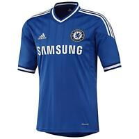 Chelsea Adidas blue home childrens short sleeve football shirt 2013-14 age 13-14