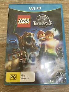 LEGO Jurassic World (Nintendo Wii U, 2015) AUS PAL - Free Postage