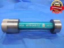 20472 20482 Class Xx Pin Plug Gage Go No Go 20625 0153 Under 2 116 51999