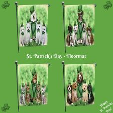St. Patrick's Day Garden flag, Dogs, Cats, Pet Photo Lover Garden Decor Gifts