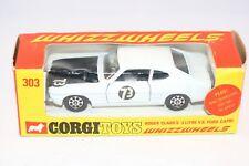 Corgi Toys 303 Roger Clarks Ford Capri 3 litre V6 perfect mint in box SUPERB