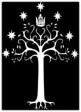 "Gondor Flag Lord of The Rings Car Bumper Window Tool Box Sticker Decal 4""X5"""