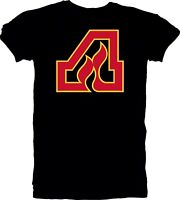 Atlanta Flames DEFUNCT NHL Hockey Vintage style Black t tee shirt team sports