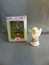 2000 Enesco PRECIOUS MOMENTS Porcelain OCTOBER Birthstone ANGEL FIGURINE 3""