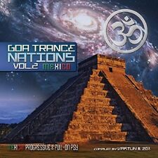 GOA TRANCE NATIONS 2 (MULTIFREQUENCIES, AKRON, DEEP CLEAVE, ...) 2 CD NEUF