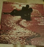 THE MYSTIC MOODS ORCHESTRA ~ PLAYS NIGHTTIDE  VINYL RECORD LP / 1972 SOUNDSCAPES