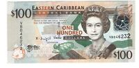 Eastern Caribbean States 2008 100 Dollars UNC Banknote Pick 51