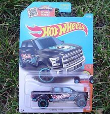 BLACK '15 Ford F-150. 2016 HW Hot Trucks 141/250. DHX43 New in Package!