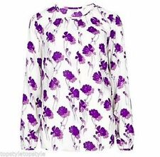 Marks and Spencer Women's Floral Long Sleeve Sleeve Blouse Tops & Shirts