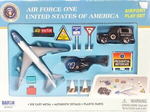 DARON Air Force One United States of America Die Cast Model Kit 12 Piece PlaySet