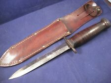Case Wwii Us M3 Smooth Handle Straight Guard Trench Fighting Knife