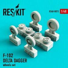 ResKit RS48-0073 F-102 Delta Dagger resin wheels Kit 1/48 Scale