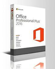 Microsoft Office 2016 Professional Plus ProduktKey Vollversion 32/64 Bit für 1PC