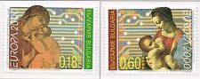 2000 Bulgarije 4453-4454 Europa CEPT - Leonardo da Vinci