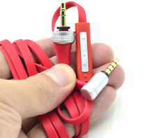 Red Audio Cable For Sony Mdr X10 XB920 XB910 Headphone With Mic Control Remote