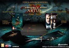 King Arthur II Polish Collectors Edition for PC by Paradox, 2012, BNIB