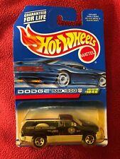 """Hot Wheels DODGE RAM 1500 Pickup - 1999 #1045 """"Federal Drug Enforcement"""""""