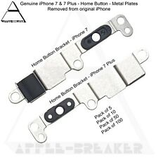 iPhone 7 & 7 Plus Home Button Metal Plates Brackets And Screws Genuine