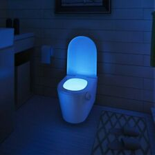 Toilet Night Light, 8 Color LED Motion Activated Sensor