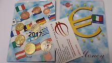 2017 ITALIA 8 monete 3,88 EURO Italie Italy Italien 2 € Dante Alighieri Италия