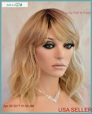 Beachy Wavy Wig  Heat Safe Rooted SS1488  Hot Style USA Seller 1057 B