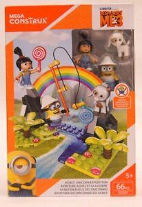 MEGA Construx Minions Despicable Me 3 Agnes Unicorn Expedition Spielset NEU
