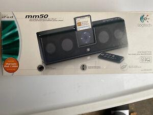 Logitech mm50 Portable Speakers Apple iPod * Open Box*