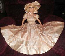 Art Deco Boudoir, Bed  Doll 1915- 1930 Original Clothes