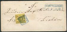 Braunschweig Brief mit EF der Mi.-Nr.11A 38 -Schöppenstedt/Jerxheim
