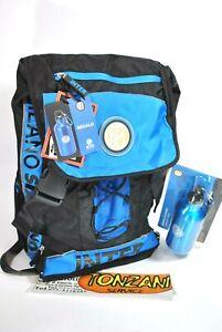 ZAINO SCUOLA  INTER CALCIO Backpack SCHOOL + borraccia omaggio