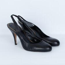 Nicole Miller Black Slingback Heels Size 8.5