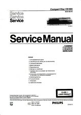 Service Manual-Anleitung in Dutch für Philips CD 303