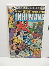 Inhumans Marvel Bronze Age Comic Book #6 Black Bolt Medusa Lockjaw