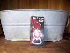 CINCINNATI REDS KEY CHAIN TAG BOTTLE OPENER SPORTS BASEBALL NOVELTY KEY RING NEW
