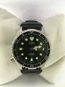 Citizen Mens Promaster Automatic Day&Date 200 Meter Divers 8200-S034124 Watch